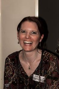 Die Autorin Melanie Fischer