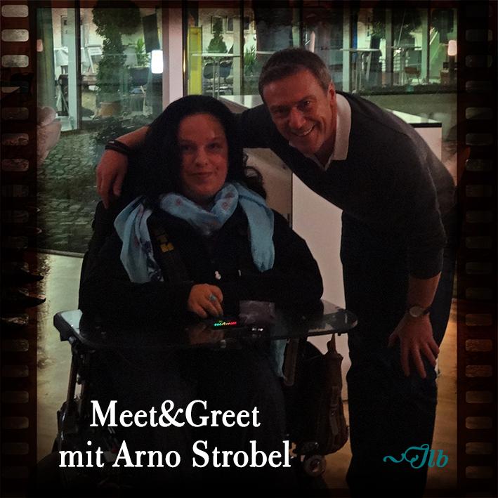 Meet&Greet mit Arno Strobel