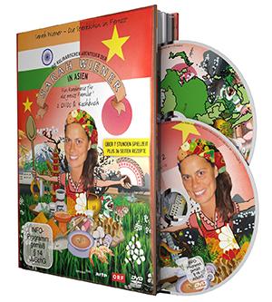 Die kulinarischen Abenteuer der Sarah Wiener in Asien  - Covere mit freundlicher Genehmigung von Edel:Motion