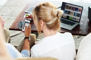 Je nach Tarif: Deezer ist sowohl im Browser als auch auf dem Smartphone, dem TV bzw. der Soundanlage verfügbar (Bild mit freundlicher Genehmigung von Deezer)