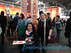 Buecherloewe & I_love_books unterwegs auf der LBM15