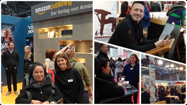 Leipziger Buchmesse 2017 - u.a. mit dem Argon Verlag und Vroni von Amazon Publishing