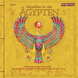 Expedition ins alte Ägypten von Volker Präkelt - Cover mit freundlicher Genehmigung von der Hörverlag